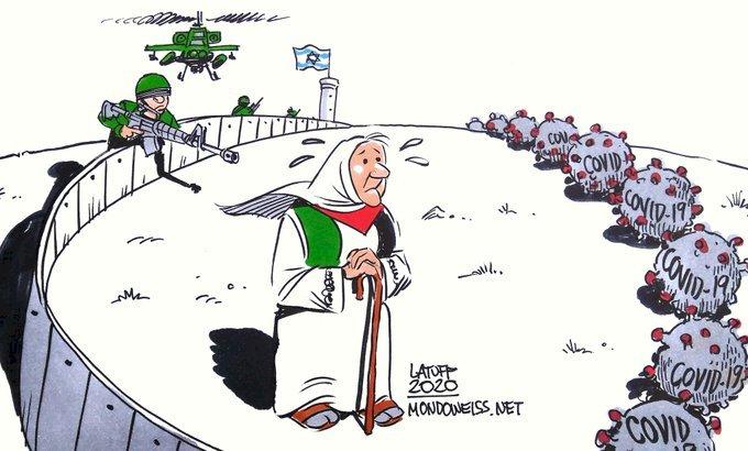 The Covid-19 Threat Is In Gaza: The Zionist Blockade Must End Immediately! - Emre Güntekin