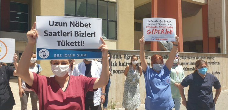 Turkey: Healthcare Workers on the Verge of Exhaustion: Government does not care!