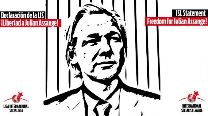 ISL statement: Freedom for Julian Assange!
